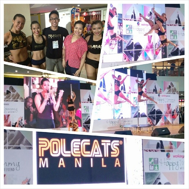 May 11 - We performed at Trinoma Activity Center for Lifestyle Network and Working Mom magazine's Mother's Day event