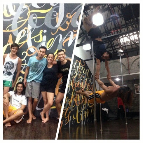 Jamming session with our friends from Trapeze PH!