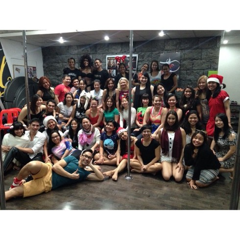 Polecats Manila Christmas Party with the Students